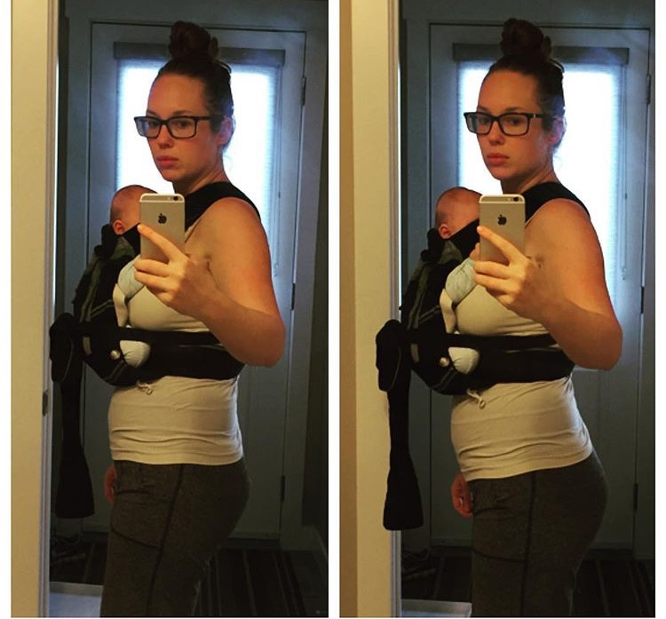 Babywearing Alignment Comparison jessie mundell