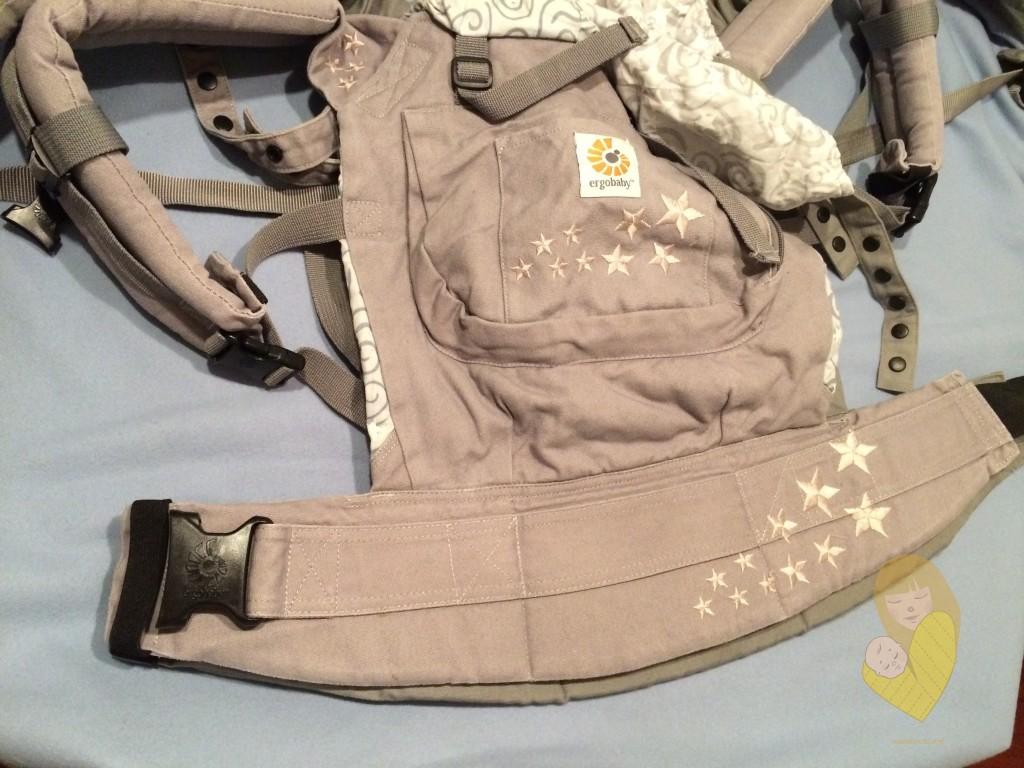 Slika 1 - Fergo nosiljka postavljena na Ergobaby original