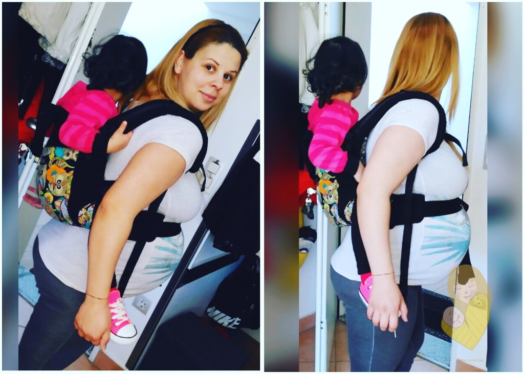 isara toddler full buckle carrier back carry pregnant