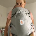 ergobaby adapt pearl grey front view nosime e1505064173164