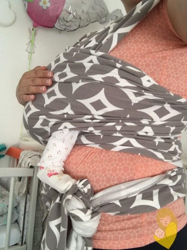 boba wrap newborn novorodjence nosi me