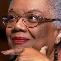 Lucille Clifton, pictured in 2000.