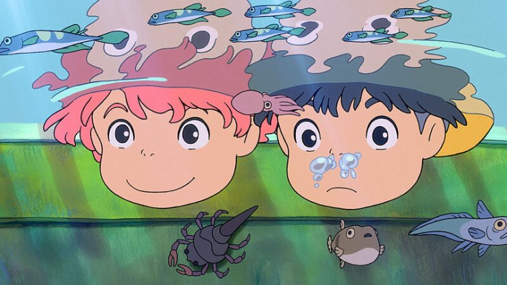 Movie Review - Ponyo - A World In Crisis, And Only Love Can Save The Day : NPR