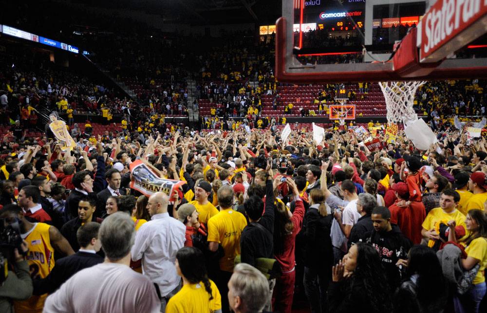 March Madness Started Early After Maryland Beat Duke - The ...