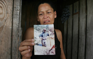 Marleni Xiomara Suarez Ortega, the wife of one of the dead migrant workers