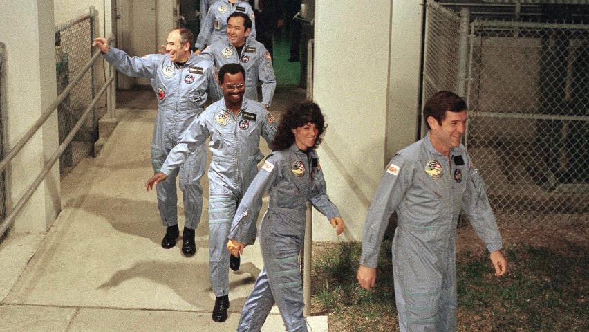 Astronaut's Brother Recalls A Man Who Dreamed Big : NPR
