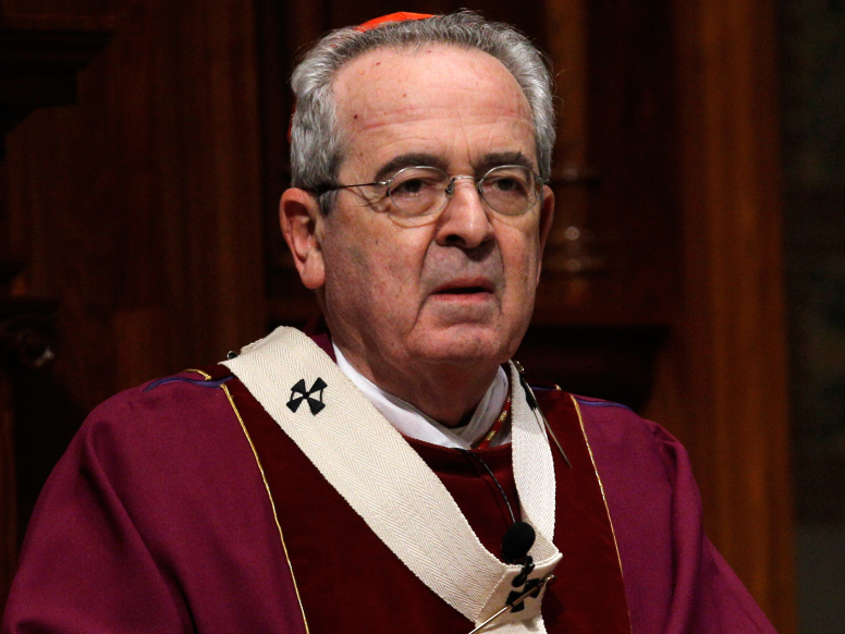 "Archbishop of Philadelphia Cardinal Justin Rigali, who suspended the priests named in the grand jury's report, said he was ""truly sorry"" for harm done to victims and members of the community for ""this great evil and crime."""