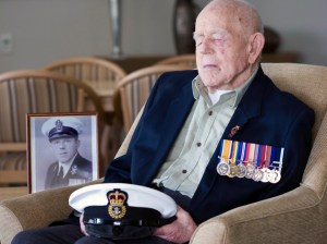 World War I veteran Claude Stanley Choules, seen in this 2009 photo supplied by the Royal Australian Navy, died Thursday at a nursing home in Perth, Australia. He later became a pacifist who shunned the glorification of war.