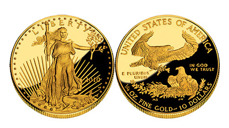 This is what our coin looked like — only it wasn't this big in real life.