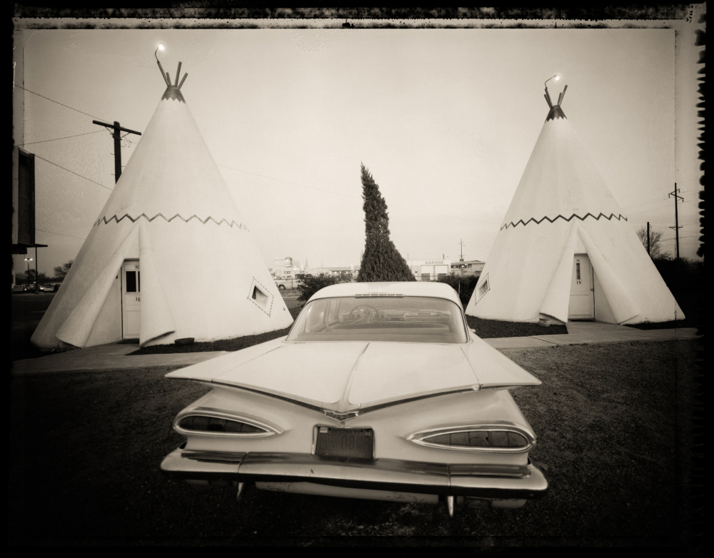 """""""The Wigwam Village Motel in Holbrook, Ariz., is one of the last remaining wigwam motels in the country. At one time there were 15 of them stretched all across the U.S. on Route 66 — old concrete teepees. This was number six."""""""