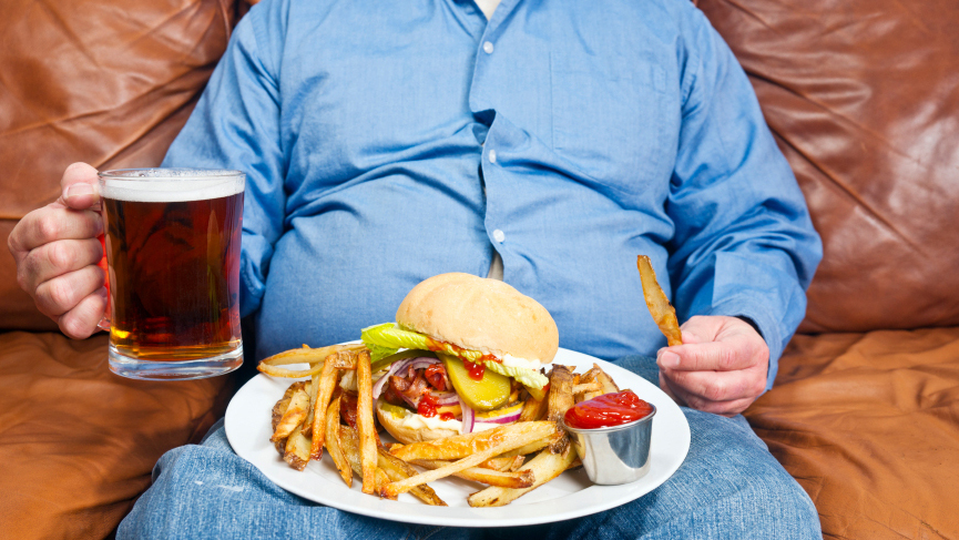 Overweight or obese is a big risk factor for hypertension.