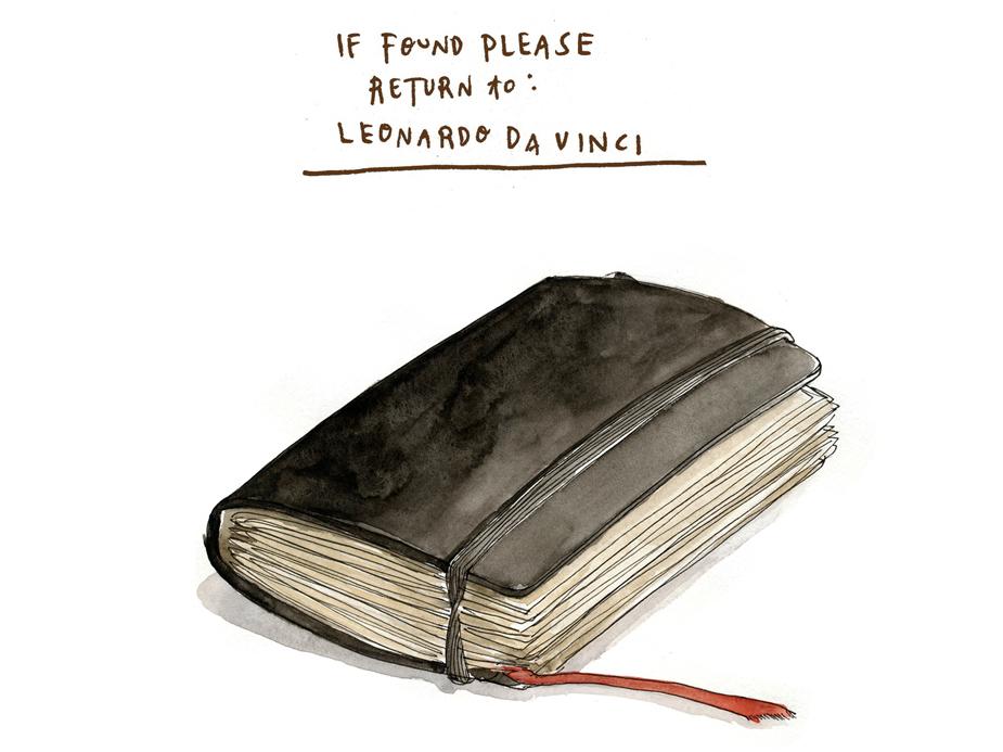Leonardo's To-Do List : Krulwich Wonders... : NPR