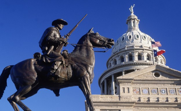 Lone Star Nation: Today, the Texas capitol flies both the American and Texas flags, but after independence the Lone Star flag would fly on its own.
