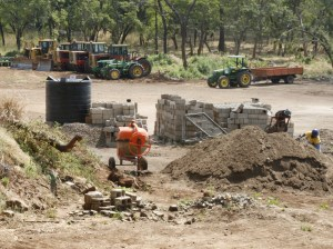 Rei do Agro is currently building its headquarters, machine shop and housing for its senior staff, who currently live in thatched huts on-site.