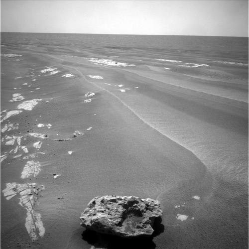 This image of Block Island was taken by Opportunity in 2009.