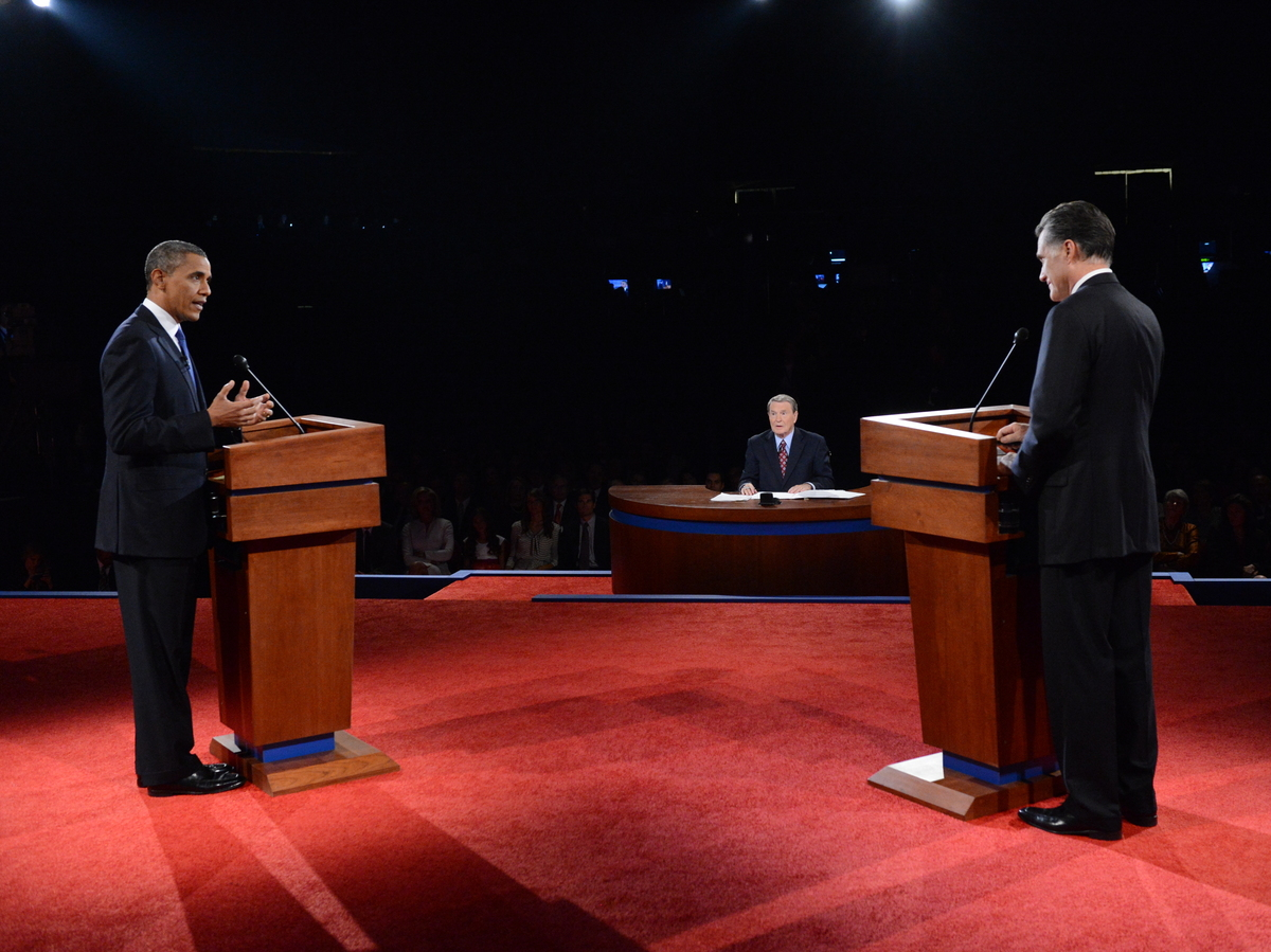 Transcript And Audio First Obama Romney Presidential