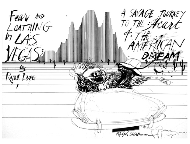 Ralph Steadman Talks Hunter S Thompson Writing That Matters