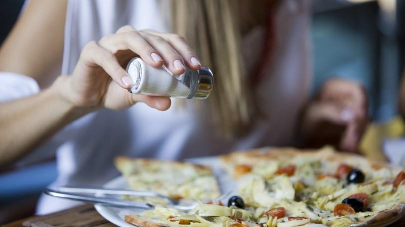 Image result for eating salt