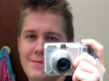 """An undated photo of Justin Carter, who's facing a felony """"terroristic threat"""" charge in Texas."""