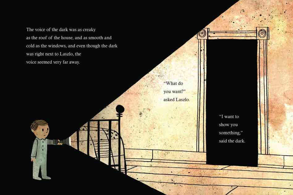 Excerpted from The Dark by Lemony Snicket, illustrated by Jon Klassen. Copyright 2013 by Lemony Snicket and Jon Klassen. Excerpted by permission of Little, Brown Books for Young Readers.