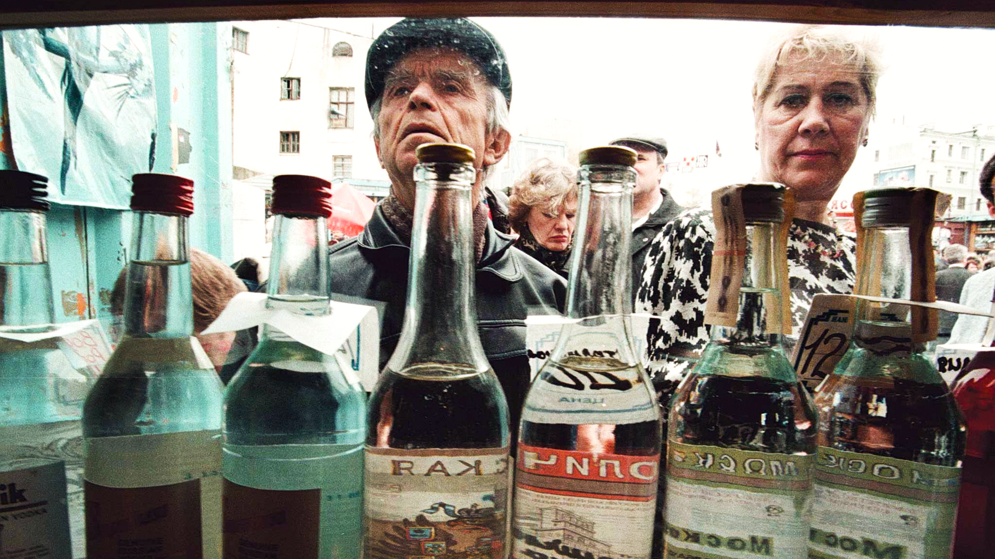Russia's Love Affair With Vodka Lures Many To An Early ...