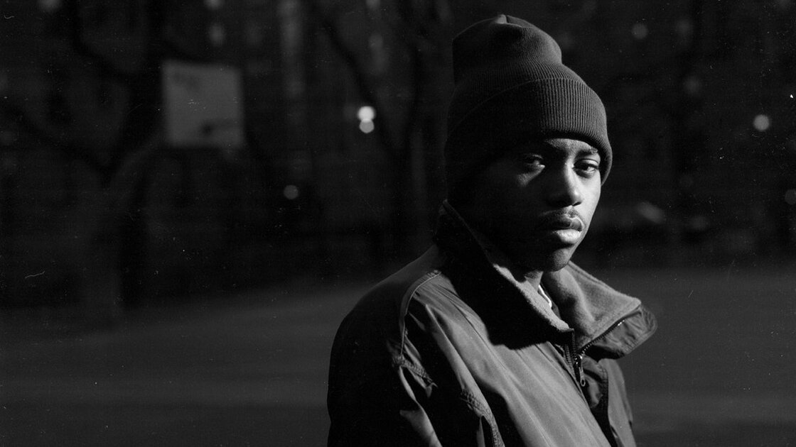 Nas in 1994, the year Illmatic was released.
