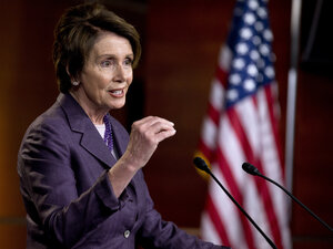 House Minority Leader Nancy Pelosi, D-Calif., said Friday negotiations were continuing with House Speaker John Boehner, R-Ohio, over a Democratic role in the investigation into the circumstances surrounding the attack on the U.S. diplomatic mission in Benghazi, Libya, in 2012.