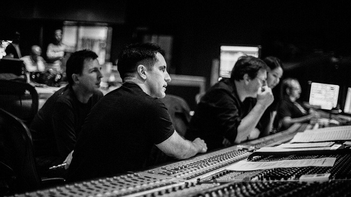 Trent Reznor and Atticus Ross' soundtrack to the film Gone Girl comes out Sept. 30.