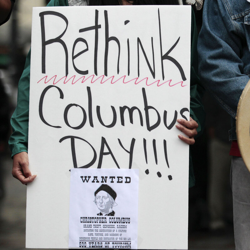 Columbus day is no longer a thing in boston, at least officially. Columbus Day Rift N J School District Scraps Holiday Names Npr