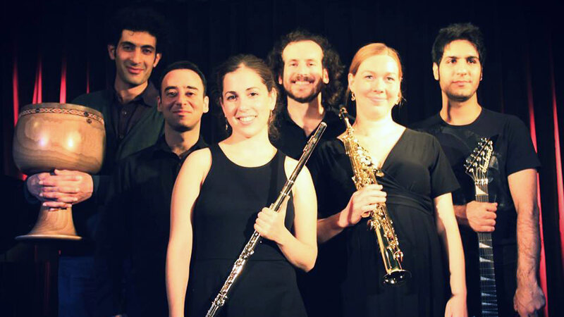 "What do you get when three Israelis, two Iranians and a German walk into a room? A Berlin-based world music ensemble known as Sistanagila, named after an Iranian province — Sistan and Baluchestan — and the popular Jewish folk song ""Hava Nagila."""