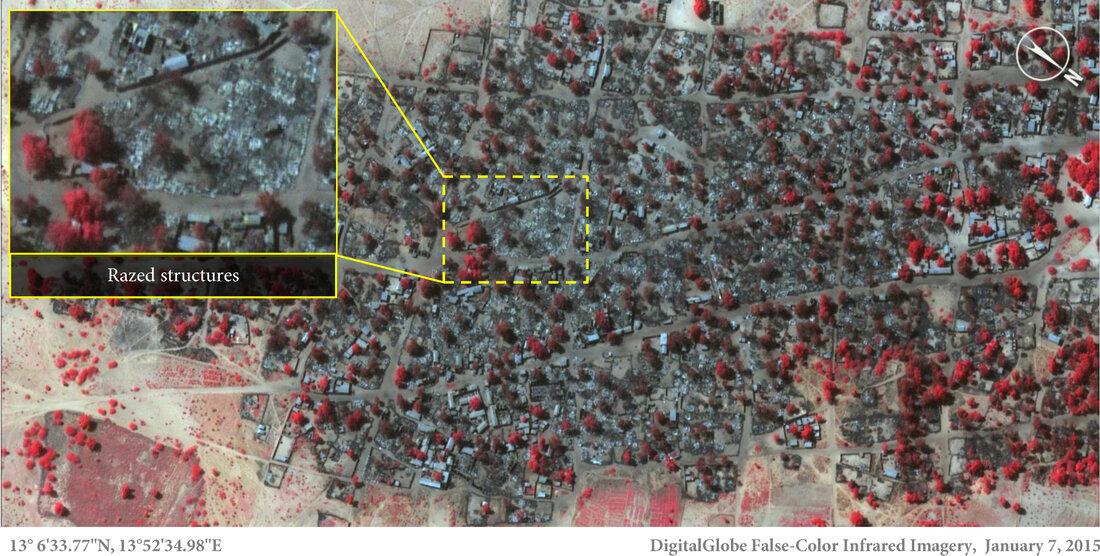 January 7: Village of Doro Baga After Boko Haram Attack