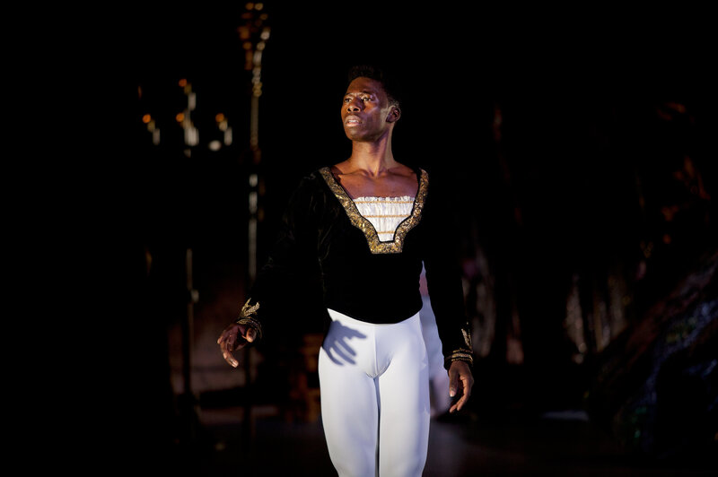 When he was 12, Brooklyn Mack convinced his mom to take him to the Columbia Classical Ballet in South Carolina. He won a scholarship and was the only black dancer at the school. This year, Mack stars as Prince Siegfried in The Washington Ballet's production of Swan Lake.