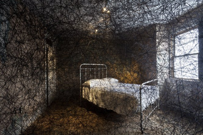 Find Unforgettable Art In A Most Unlikely Place Pittsburgh Mattress Factory