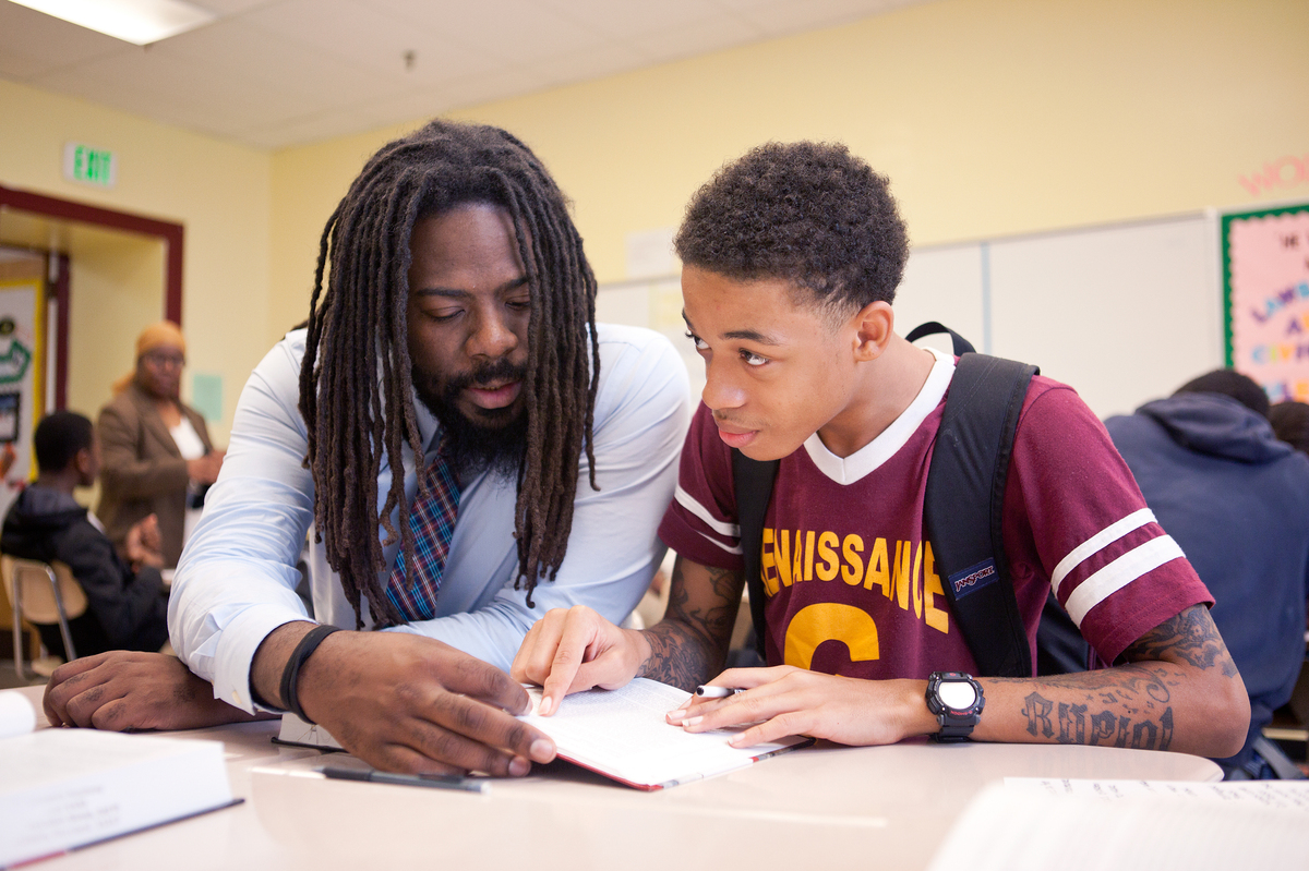 For At Risk Kids In Baltimore Mentors Provide Far More
