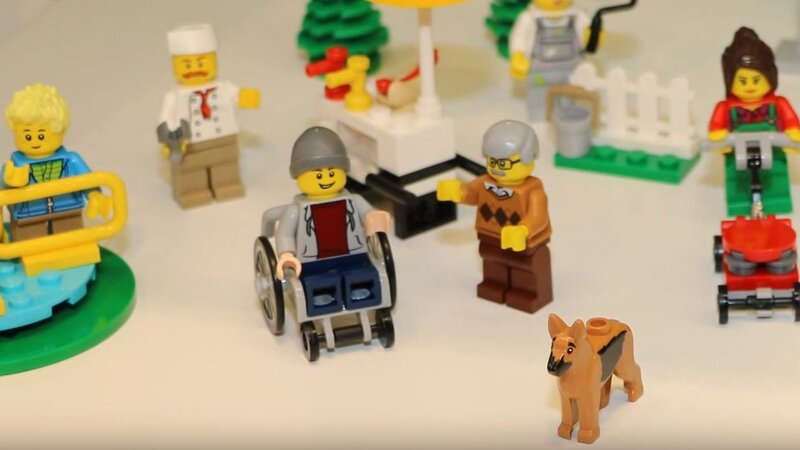 Lego  In A First  Will Unveil A Minifigure In A Wheelchair   The Two     Lego  In A First  Will Unveil A Minifigure In A Wheelchair