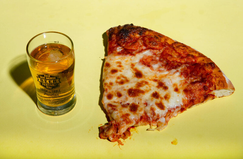Cheese Pizza and Victory Prima Pils
