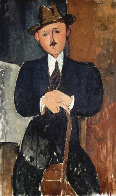 The Panama Papers may help settle an ownership claim over Amedeo Modigliani's Seated Man With a Cane, which Philippe Maestracci says was seized from his grandfather by the Nazis.