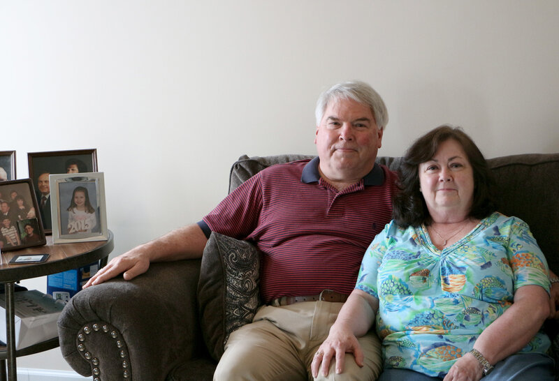 Steve and Janet Singleton, both Navy veterans, have lived in Clarksville, Tenn., for about a year. Steve couldn't get into the local VA clinic last spring, so now they have to drive to the Nashville clinic or pay out of pocket for medical care.