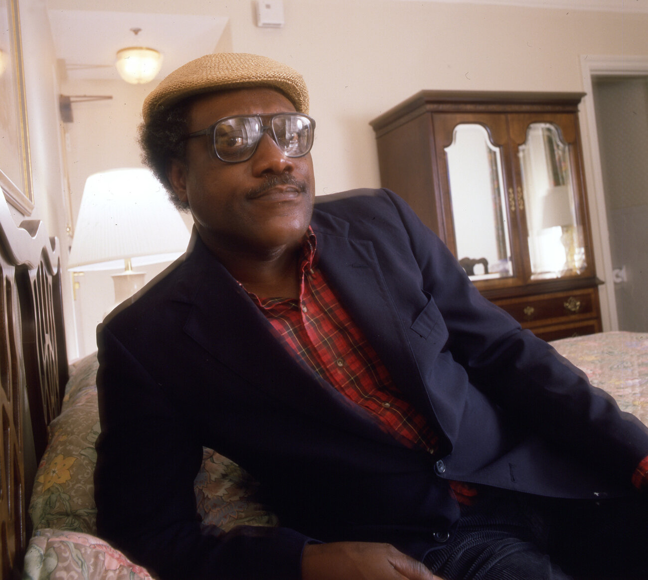 American author James Alan McPherson, photographed in 1984.