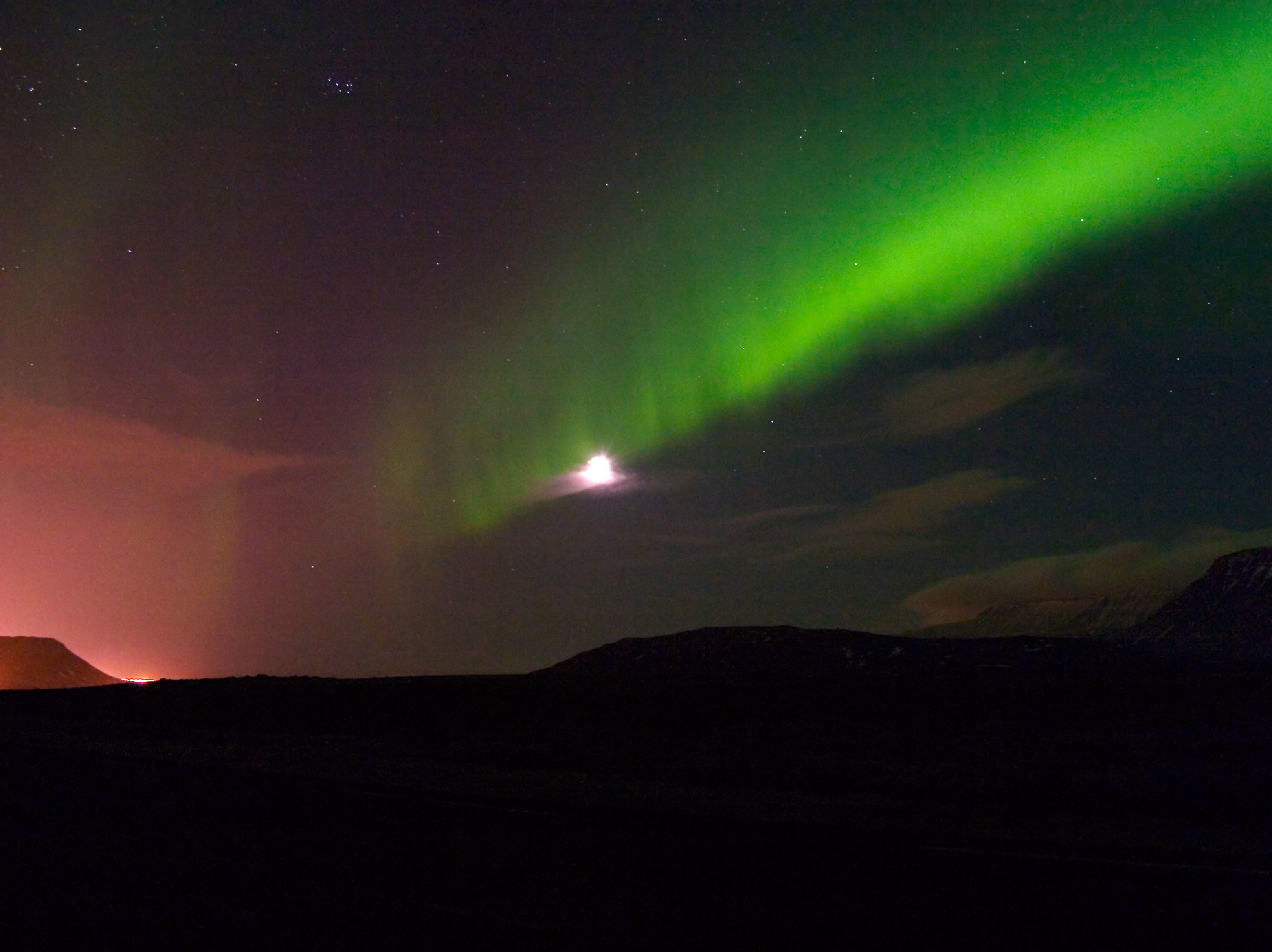 Northern Lights Forcast Iceland