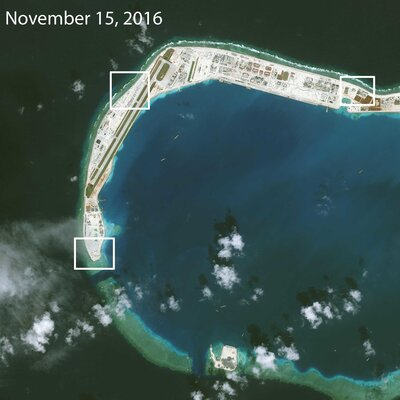 In South China Sea Islands, Anti-Aircraft And Radar Systems Emerge In Full Color