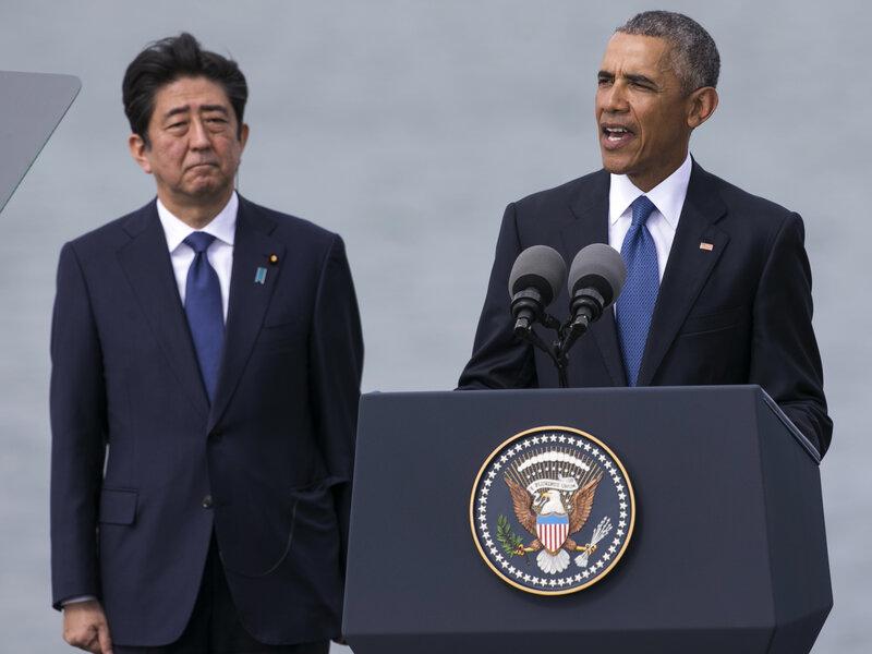 Di Pearl Harbor, Obama dan Jepang Pemimpin Tout Rekonsiliasi