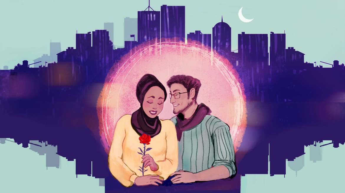 Young Muslims find a middle ground for fostering romantic relationships between what is permissible and what is forbidden.