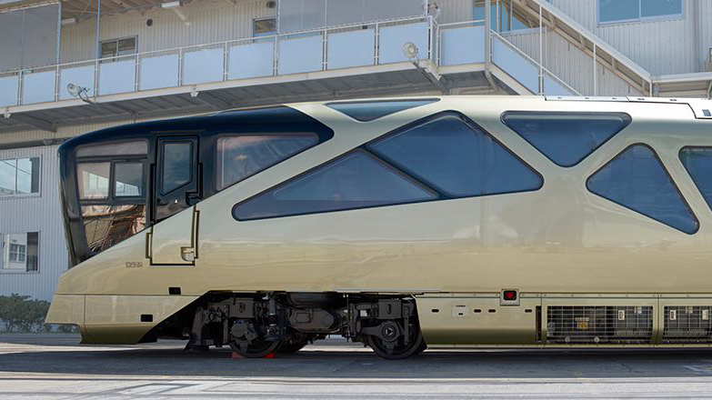 The Japanese luxury Train Suite Shiki-Shima will carry a maximum of 34 passengers. Tickets cost between nearly $3,000 and almost $10,000.
