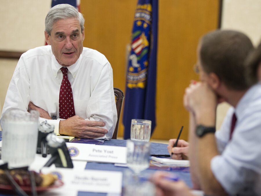 Image result for photos of mr mueller special counsel