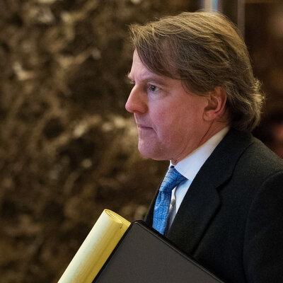 Top White House Lawyer Donald McGahn Sits At The Center Of Controversy