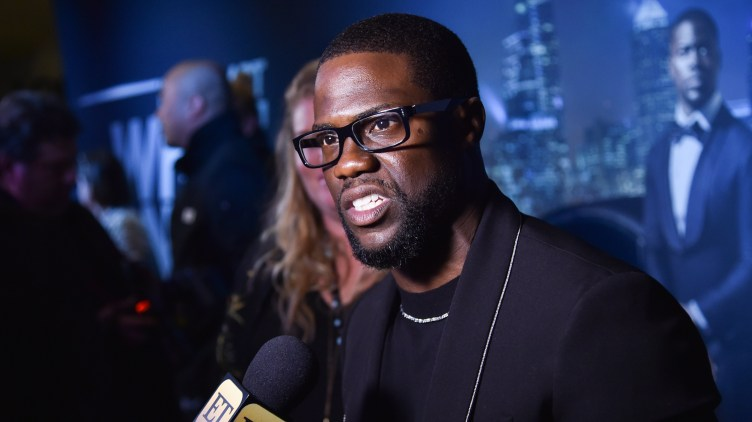 Actor and comedian Kevin Hart said that he wouldn