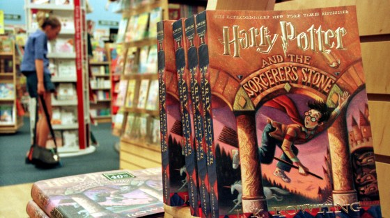 Copies of Harry Potter and the Sorcerer
