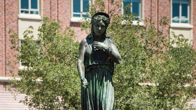 USC says it deliberately chose an alternate spelling of the Bard