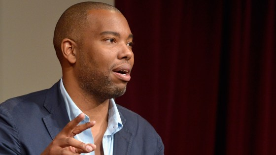 "Author Ta-Nehisi Coates says of Trump voters: ""I think if you say,"